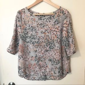 Monk & lou floral blouse / top from Plenty